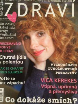 Vica na obálce časopisu Zdraví